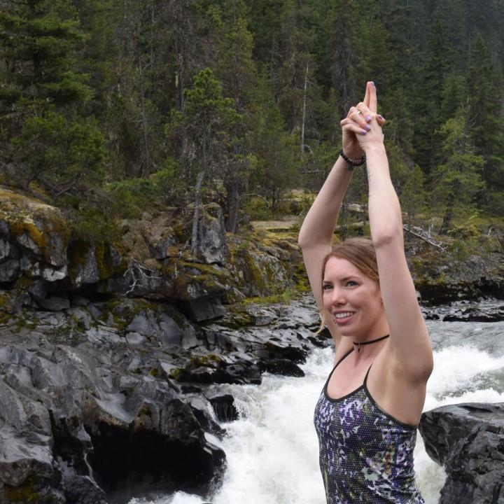 whistler yoga girl